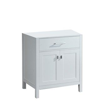 "Design Element London 30"" Single Vanity - Pearl White 