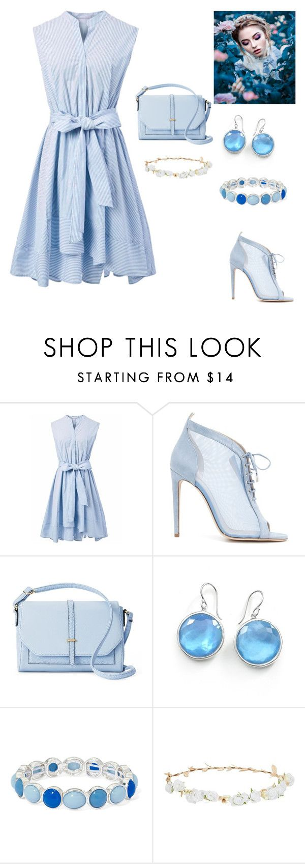 """Untitled #35"" by maidasabic12 ❤ liked on Polyvore featuring Chicwish, Chloe Gosselin, Apt. 9, Ippolita, Liz Claiborne and Robert Rose"