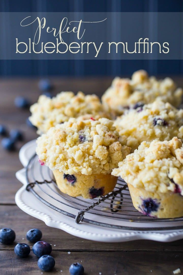 I Make These Blueberry Muffins All The Time And Everybody Always Goes Crazy For Them Muffin Recipes Blueberry Bakery Style Blueberry Muffins Blueberry Recipes