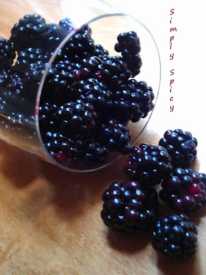 Easy blackberry jam recipe