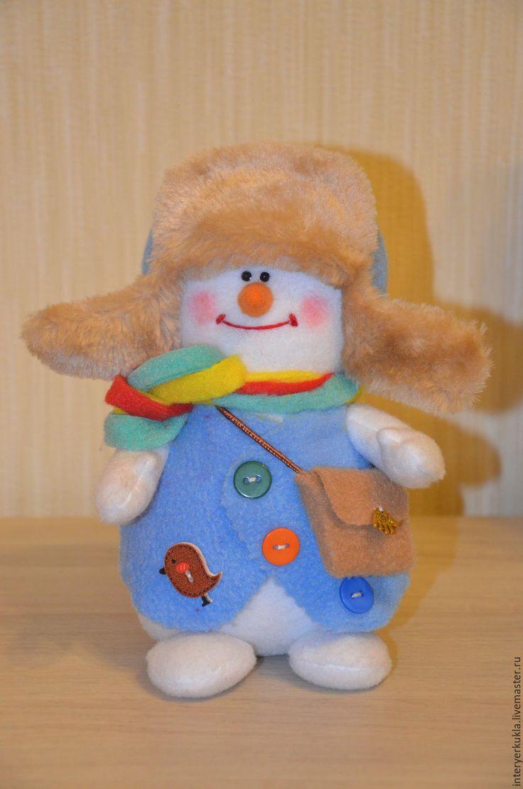 Купить Снеговик! - белый, снеговик, снеговичок, снеговики, снеговички, снеговик в подарок, новогодний подарок
