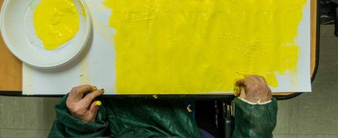 """L'arte incontra l'Alzheimer. L'Associazione Boscovich Arte e Salute, in collaborazione con lo Studio Medico Boscovich, l'onlus Paloma 2000 e Sferruzz@amente, presenta la mostra """"Non ti scordar di me"""", ideata e curata dal direttore artistico dell'Associazione Caterina Corni: 80 opere tra disegni, dipinti e manufatti tessili per avvicinare il grande pubblico alla problematiche che accompagnano l'età …"""