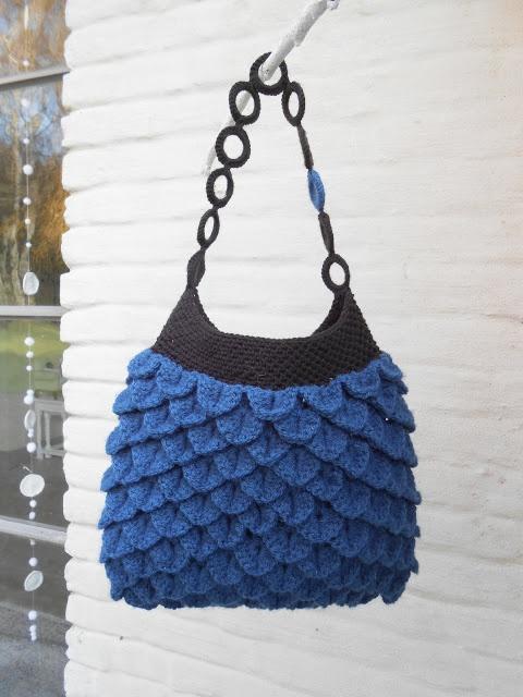 Free Crochet Pattern Crocodile Stitch Bag : 17 Best images about Crocodile stitch crochet on Pinterest ...