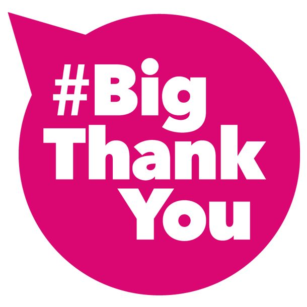 Say your own #BigThankYou to a sports volunteer!   Use the #BigThankYou hashtag on Twitter, Facebook or Instagram. There are over 3 million volunteers in the UK making sport happen in local communities. So whether you take part in sport, run a sport group with other volunteers, are a parent or just think that these people are incredible, now's your chance to say your #BigThankYou.