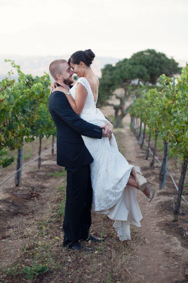 Romantic Vineyard Wedding Styled Shoot by Laura Hernandez Photography