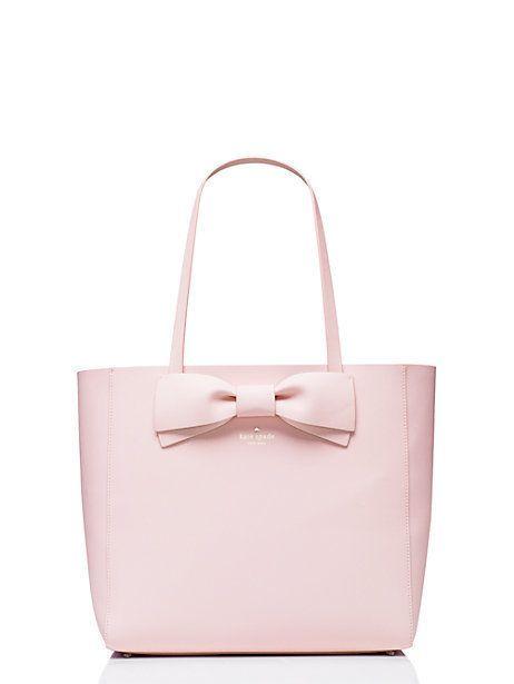 Love this pink bow Kate Spade bag!