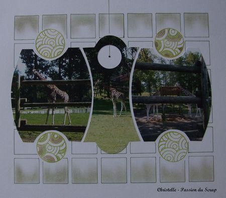 6 la girafe