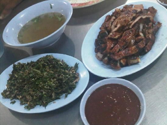 babi panggang karo - Pork Dishes