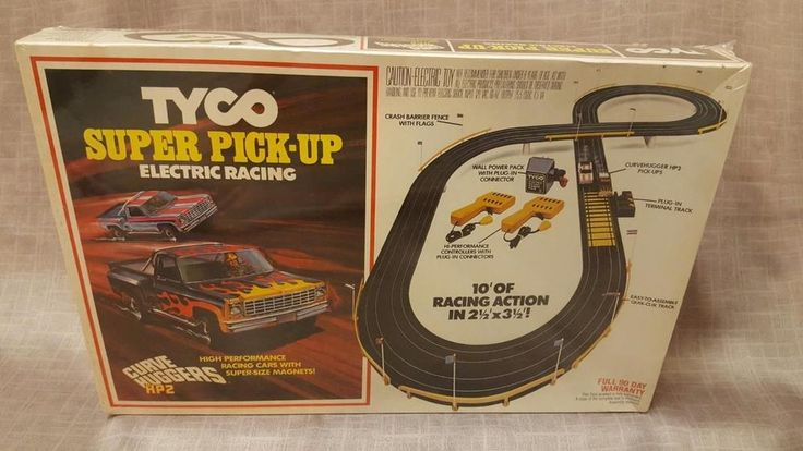 1979 TYCO Slot Car SUPER PICK-UP Truck ELECTRIC RACING HP2 set - NOS - sealed #Tyco