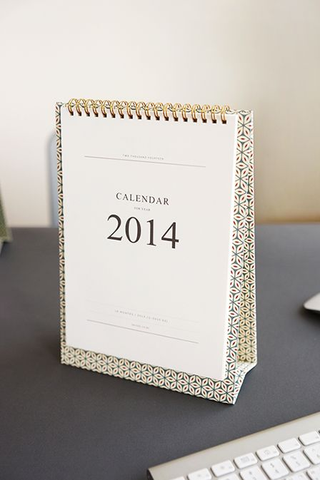 lean to calendar - pattern cover