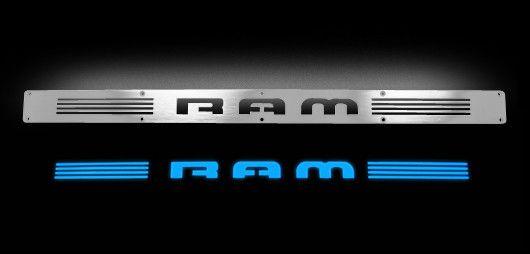 Dodge Illuminated Door Sill for Ram