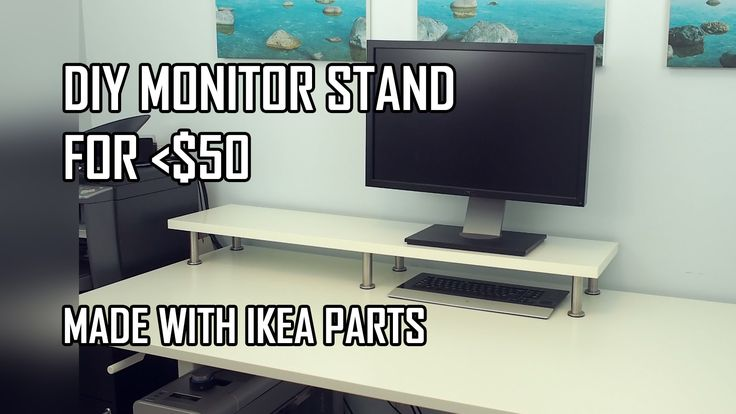 25 best monitor stand ikea ideas on pinterest. Black Bedroom Furniture Sets. Home Design Ideas