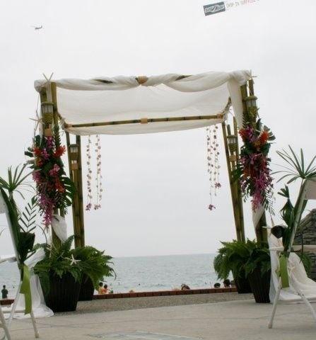 Arc de Belle Bamboo Wedding Chuppah / Canopy
