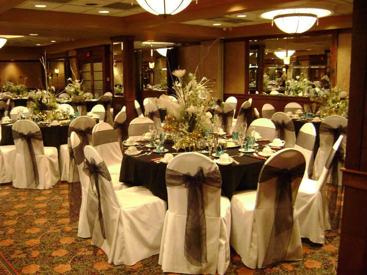 Wedding Chair Covers - All About Elegance - Michigan Chair Cover Rentals - Chair Cover Rentals/Overlays