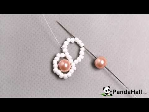 114 How Do You Make a Fresh Pink Pearl Beads Bracelet with White Seed Beads 1 - YouTube