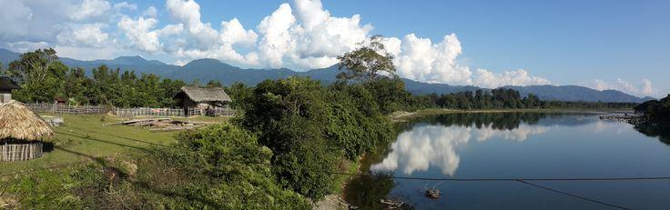 On the road in Kachin near Putao