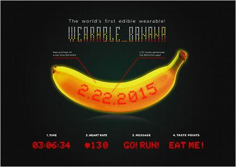 """株式会社ドール/東京マラソン2015「WEARABLE_BANANA(ウェアラブルバナナ)」/Dole/Tokyo Marathon 2015 """"WEARABLE BANANA"""" - DentsuY&R"""