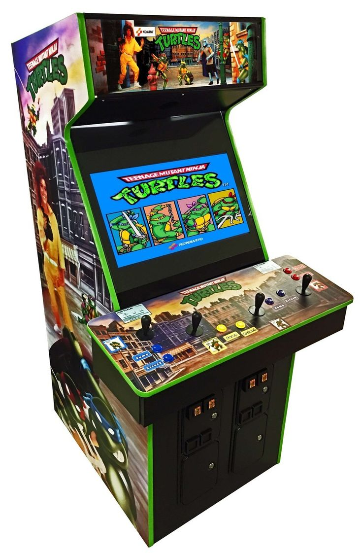 Teenage Mutant Ninja Turtles Arcade Video Game Arcade