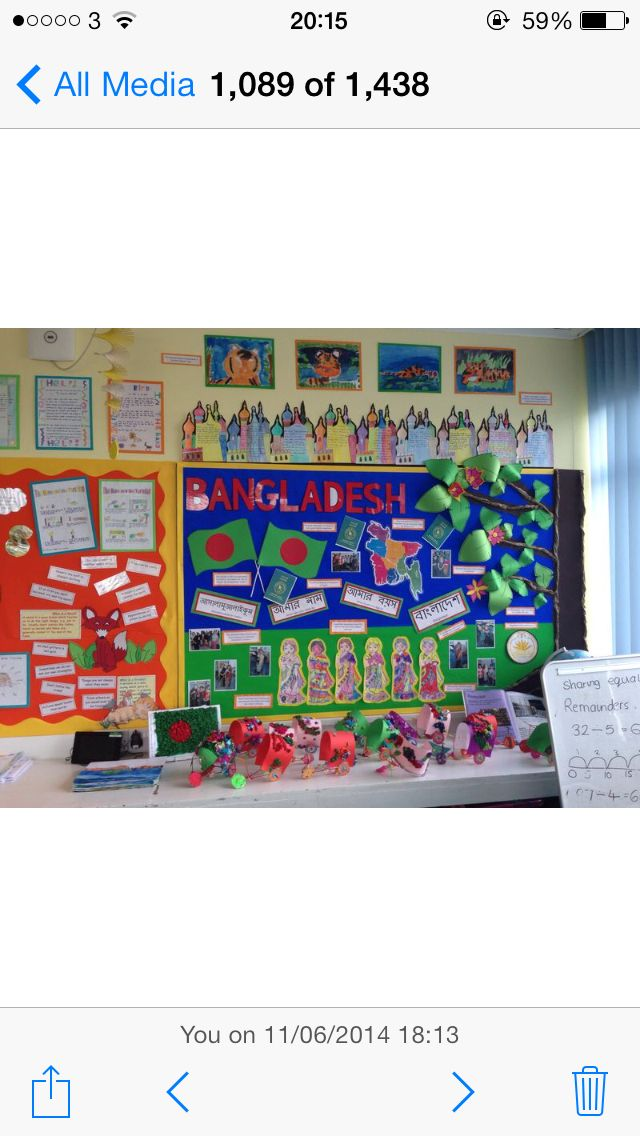 Bangladesh display ks2 classroom topic