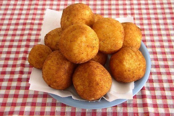 #arancini #vega étel / food Forrás/source: wikipedia.org