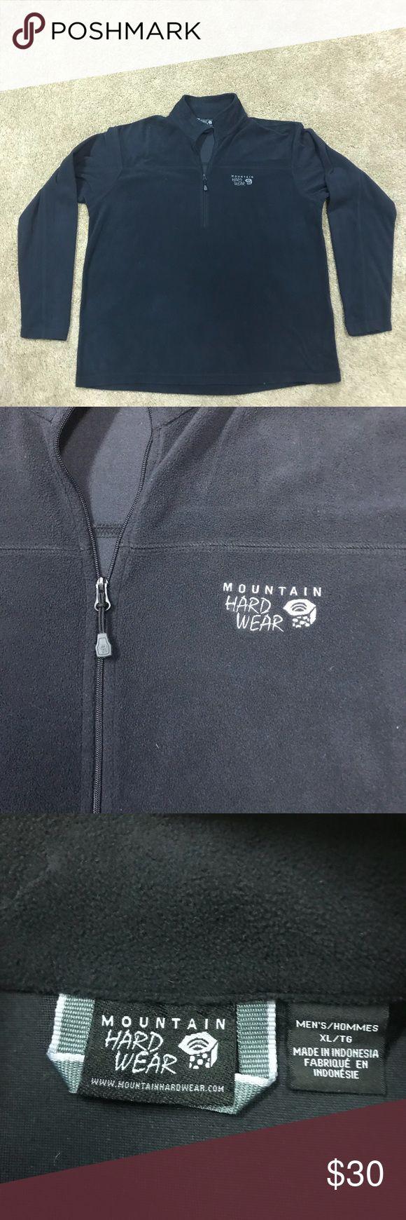 Mountain Hard Ware Men's Fleece Pullover Jacket XL Men's size XL Mountain Hard Ware fleece lightweight pullover. Excellent condition ! Mountain Hard Wear Jackets & Coats Lightweight & Shirt Jackets