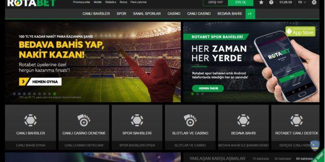 Rotabet Bahis Sitesi Analiz Rotabet bahis sitesi,  Smart NV şirketinin bir kuruluşu olarak görülmektedir ve bağlı olduğu şirket aracılığı ile 1668/JAZ numaralı lisansını, Hollanda antillerinden almıştır. Sitenin en belirgin özelliği, bütün dünyadan üye kabul etmesine rağmen, Amerika Birleşik Devletlerinden üye kabul etmemesidir. Yeşil, siyah ve beyaz renklerin kullanıldığı, Türkçe destekli bir işlem platformu ile Türk bahis severlere 2016