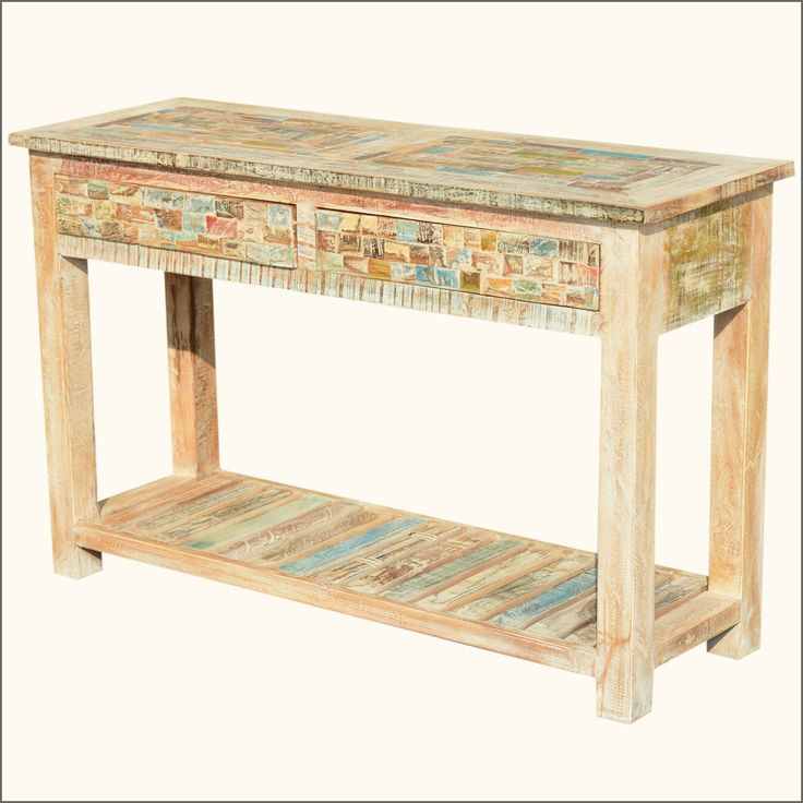 Console Tables Fit Beautifully Behind Sofas, In Hallways And Against  Windows. Our Solid Hardwood Paint Box Hall Table Can Transform A Bland  Corridor Or.