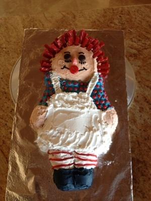 Raggedy Ann Birthday Cake at Birthday.com