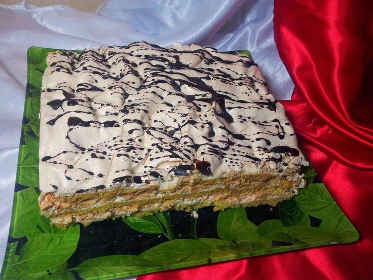 Торт - Воздушный Сникерс (Cake - Air Snickers). Торт-безе - YouTube