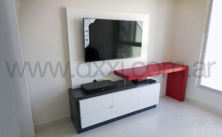 Mueble para tv en dormitorio buscar con google muebles - Muebles para tv dormitorio ...