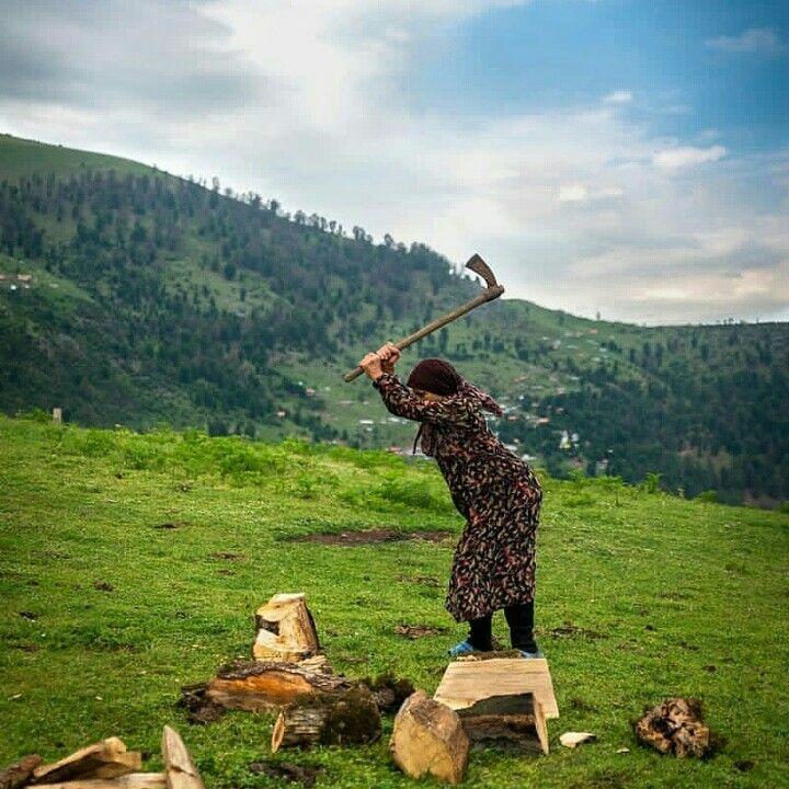 طبیعت زیبای کوهستان استان گیلان و پیرزن روستایی | Iran tourism, Ecotourism,  Safari tour