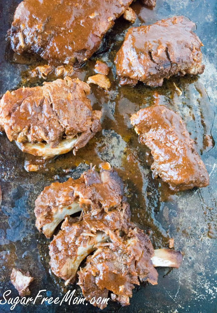 Low carb crockpot ribs