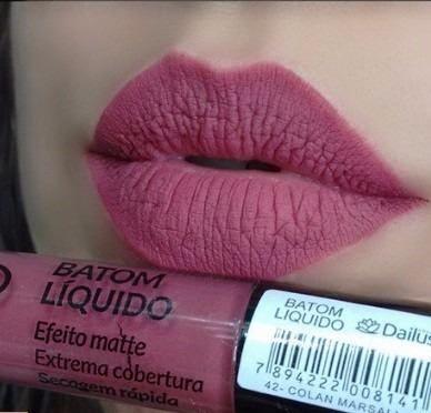 Dailus Pro Batom Liquido :: COLAN MARSALA