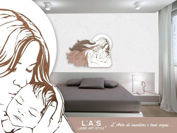 #CuriosityLAS Amore allo stato puro! Scopri tutte le altre maternità #laserartstyle su http://www.laserartstyle.it/home/gallery/sacri/