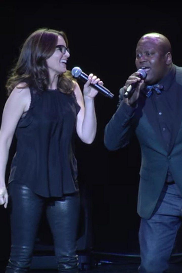 Tina Fey Belts Out a Duet With Unbreakable Kimmy Schmidt's Tituss Burgess