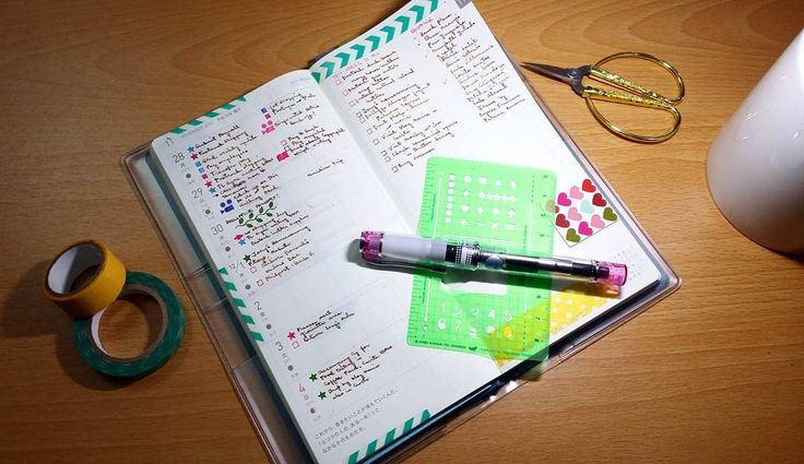 """26 Gostos, 1 Comentários - Mrs. P. (@mrsp.writes) no Instagram: """"I've been writing on this Hobonichi Weeks since September but I'm happy that I am now writing on…"""""""