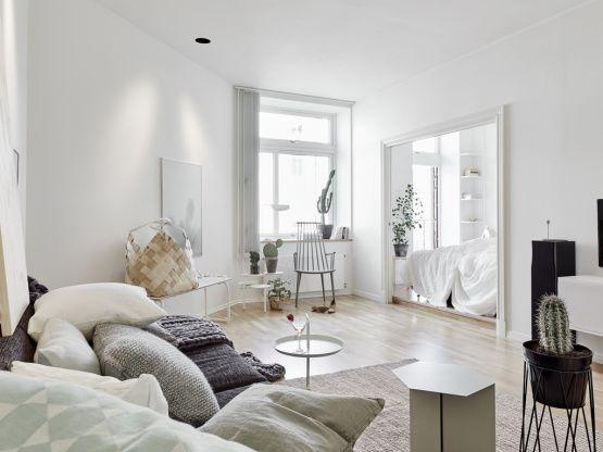 Decoracion En Paredes Interiores ~ de interiores en blanco decoracion, decoracion dormito?  Pinteres