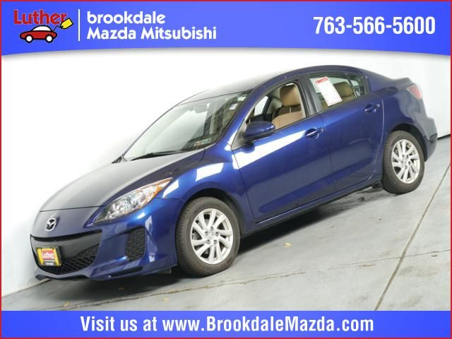 Used 2012 Mazda Mazda3 For Sale in Brooklyn Center MN at Luther Brookdale Mazda dealership. Mazda dealer near the Twin Cities. Blue sedan. Used Mazda3 for sale. Blue Mazda3. Minneapolis. Golden Valley. Plymouth. Bloomington MN.