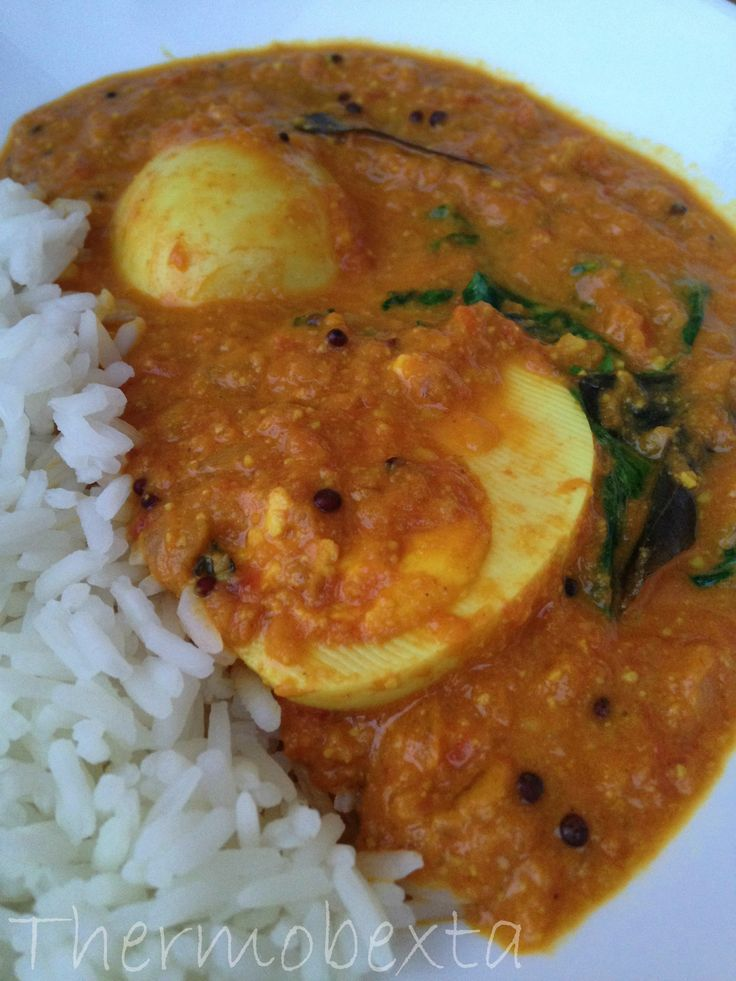 Thermobexta's Golden Egg Curry