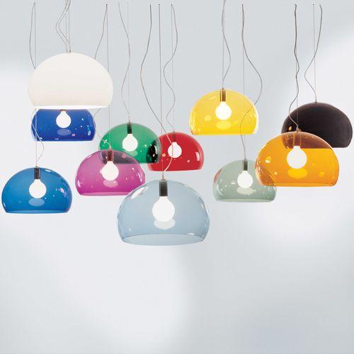 Kartell FL/Y lamp - I love this light.