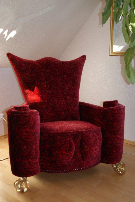 Bretz Sessel Designermöbel Großbeeren Red Bretz armchair
