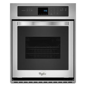 Whirlpool Single Electric Wall Oven (Stainless Steel) (Common: 24-in; Actual 23.75-in)