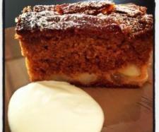 Sticky Pear Ginger Cake