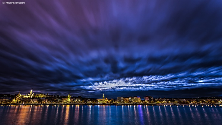 Skies over the Duna  - Budapest