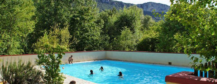 Camping et locations en Drôme Provençale - Camping les Castors près de Buis les Baronnies