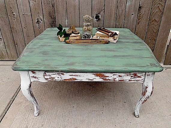 25+ best ideas about Distressed coffee tables on Pinterest   Country coffee  table, Vintage coffee tables and French country decorating - 25+ Best Ideas About Distressed Coffee Tables On Pinterest