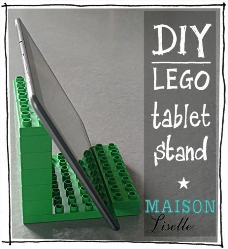 DIY lego pill stand Maison Lisette – okay, not garments, however I have to make this.