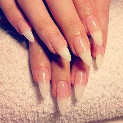 Simple Stiletto Nails | PrettyNails! | Nails, Simple ...