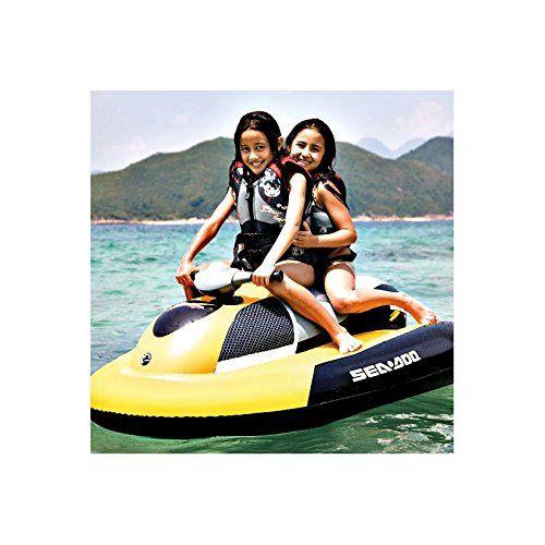 * Basé sur la même technologie que la gamme de scooters aquatiques SEADOO, l'AquaMate est un scooter gonflable qui peut être comparé à un jet-ski électrique gonflable. * Le flotteur en PVC à double chambre lui assure une flottabilité irréprochable en toutes circonstances. (dans la limite de 70 kgs) * Un grand nombre de tests [...]