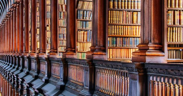 Storage - The Old Library at Temple College, Dublin Ireland